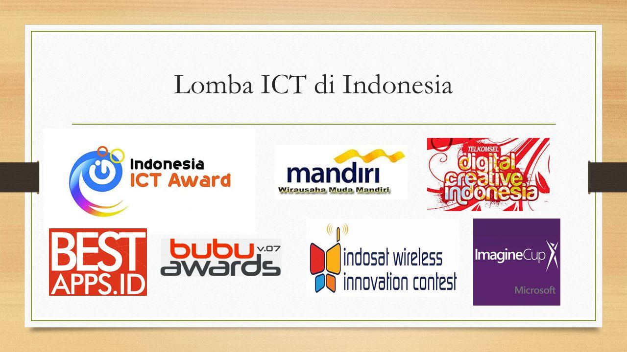 Lomba ICT di Indonesia