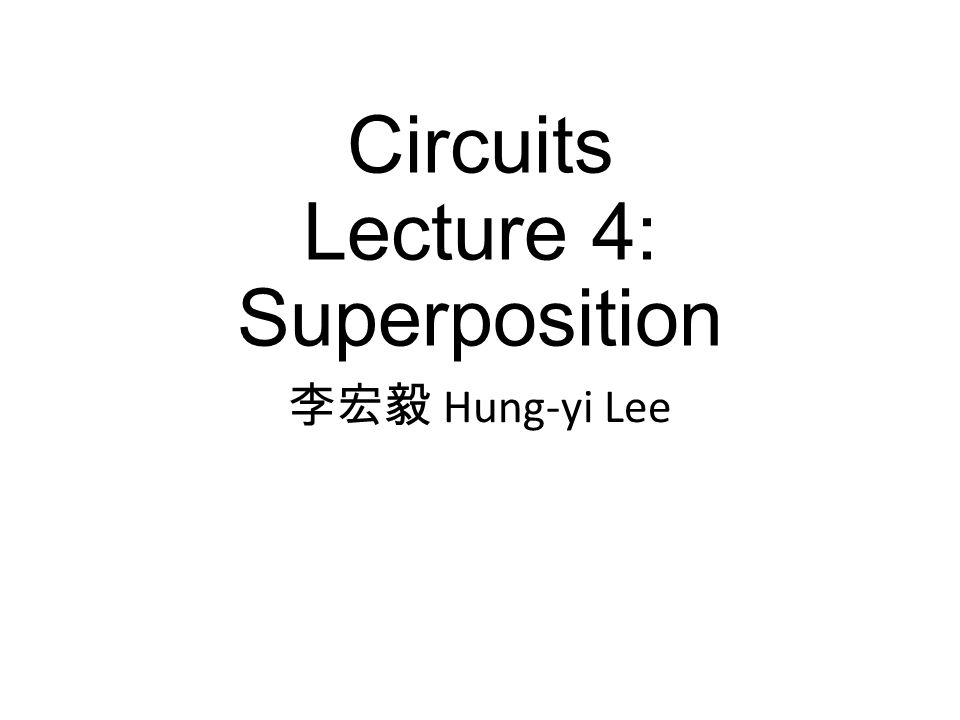 Proportionality Principle – One Independent Sources Find i 1 and v 1 when v s is 9V, 72V and 0.9V Complex Circuit