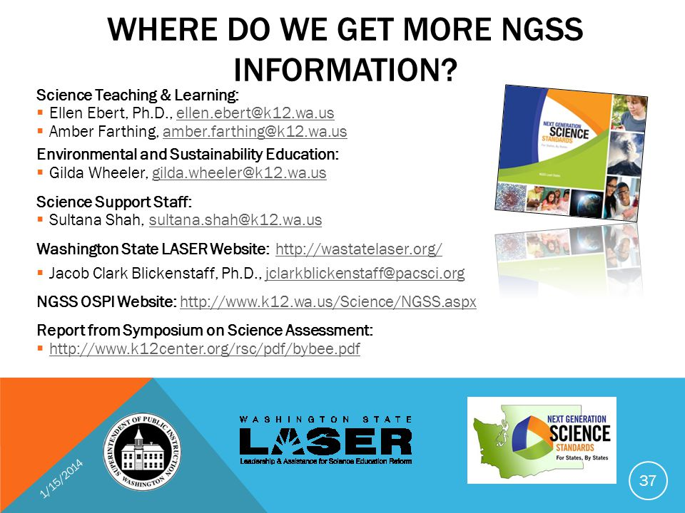 WHERE DO WE GET MORE NGSS INFORMATION.