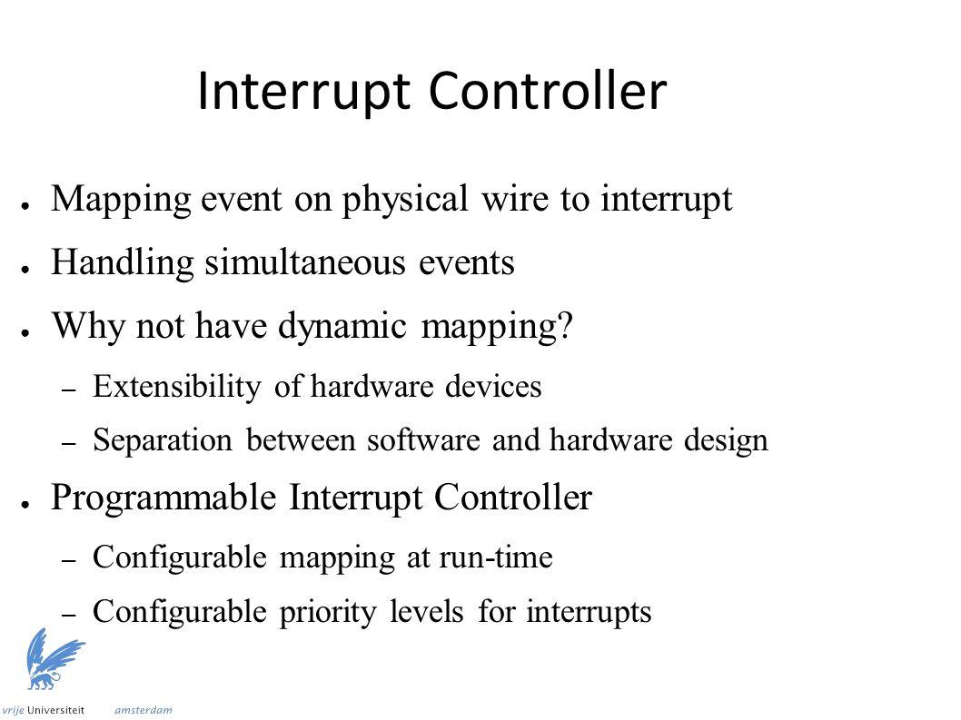 Programmable Interrupt Controller