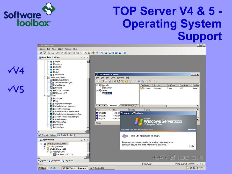 TOP Server V5 on Windows Vista 32-Bit 64-Bit