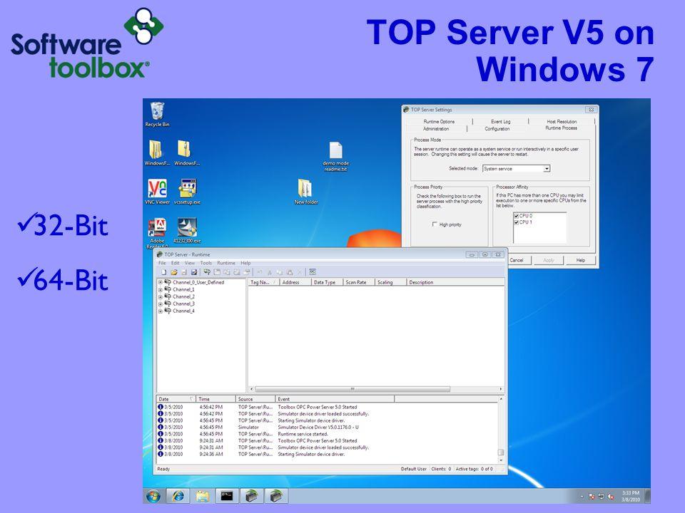 TOP Server V5 with Remote Desktop