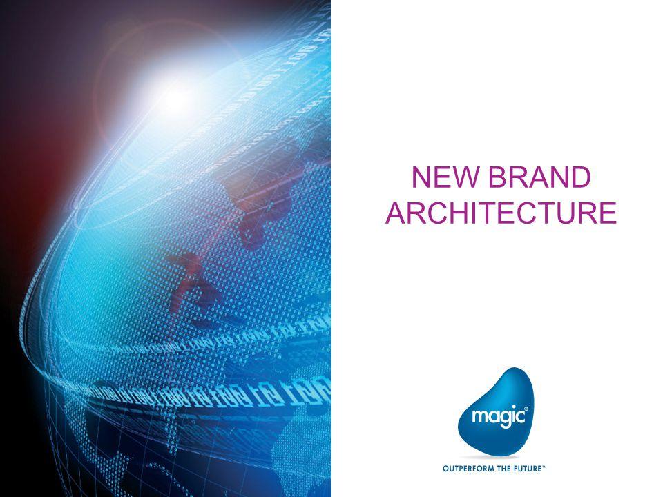 NEW BRAND ARCHITECTURE