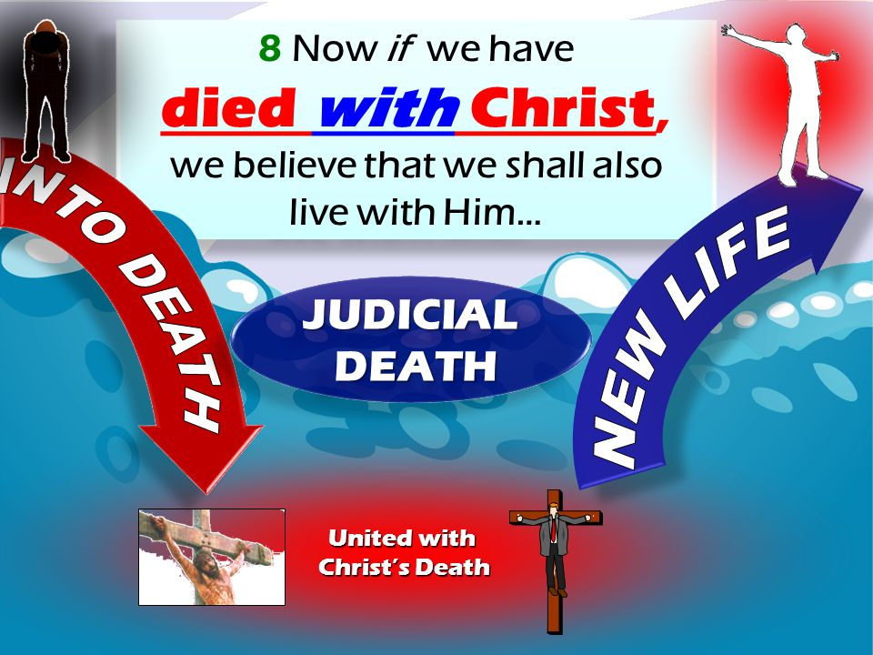 8 Now if we have died with Christ, we believe that we shall also live with Him… 8 Now if we have died with Christ, we believe that we shall also live