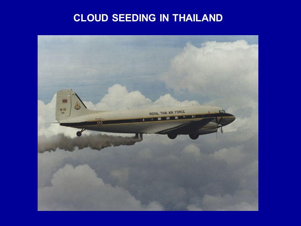 CLOUD SEEDING IN THAILAND