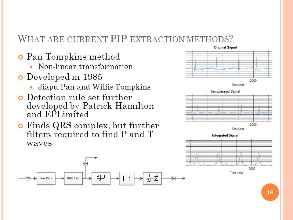 W HAT ARE CURRENT PIP EXTRACTION METHODS .