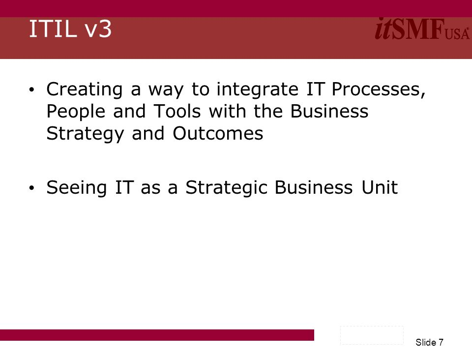 Slide 18 IT Managers ConsultantsPractitionersOutsourcersVendors