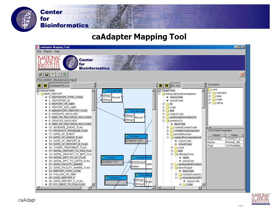 9 caAdapter caAdapter Mapping Tool