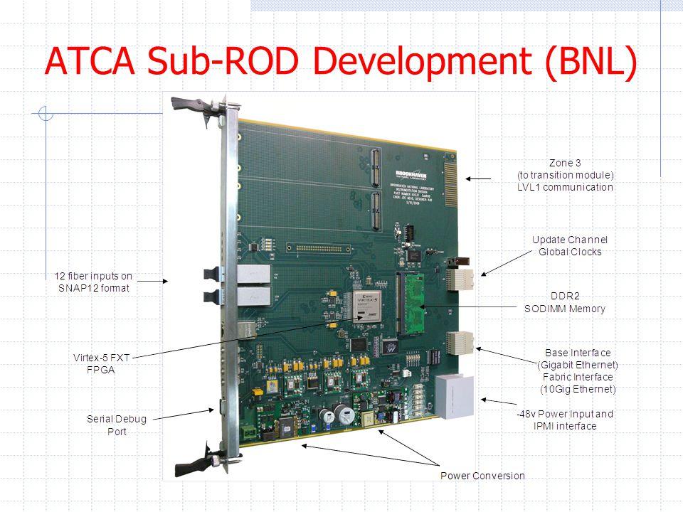 ATCA Sub-ROD Development (BNL)