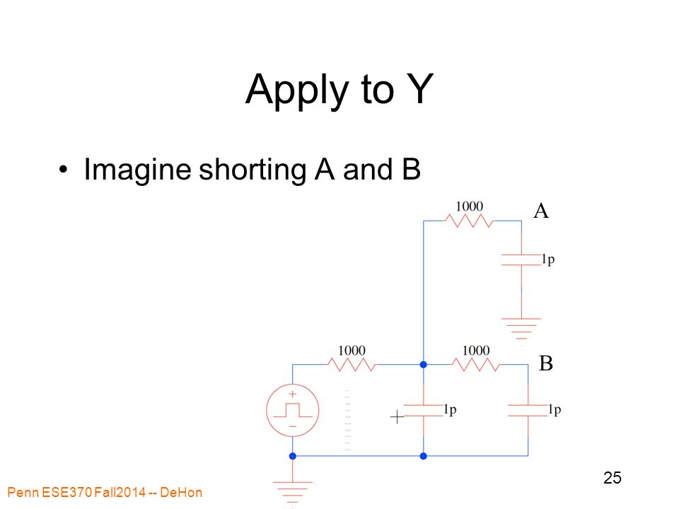 Apply to Y Imagine shorting A and B Penn ESE370 Fall2014 -- DeHon 25 A B
