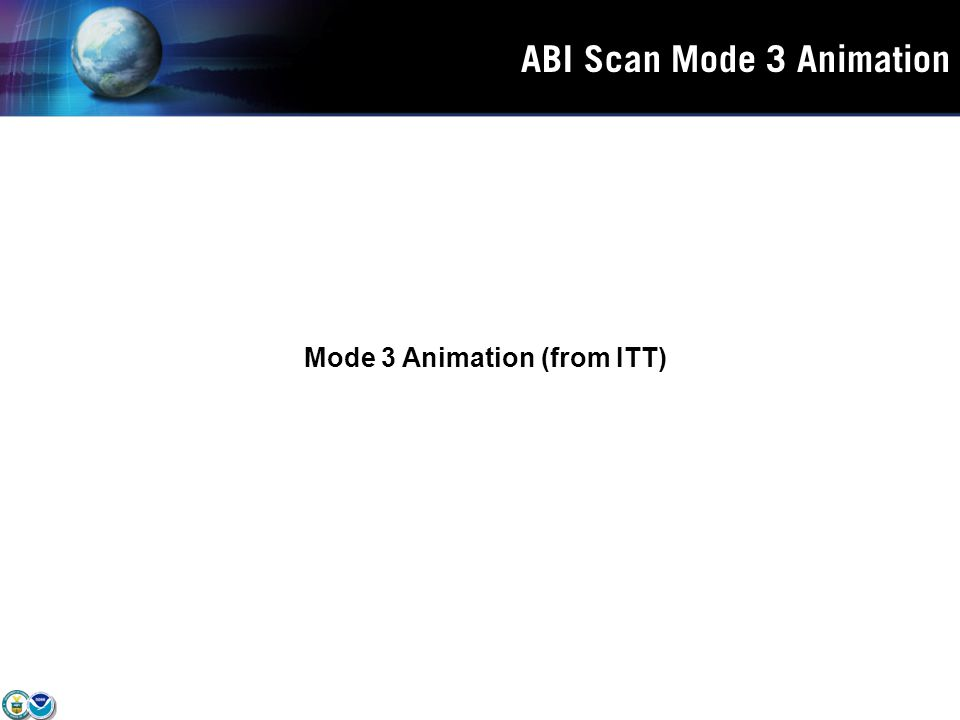 ABI Scan Mode 3 Animation Mode 3 Animation (from ITT)