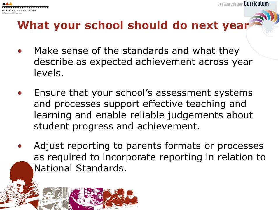 Make sense of the standards and what they describe as expected achievement across year levels.