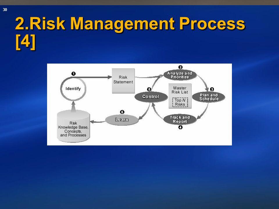 30 2.Risk Management Process [4]