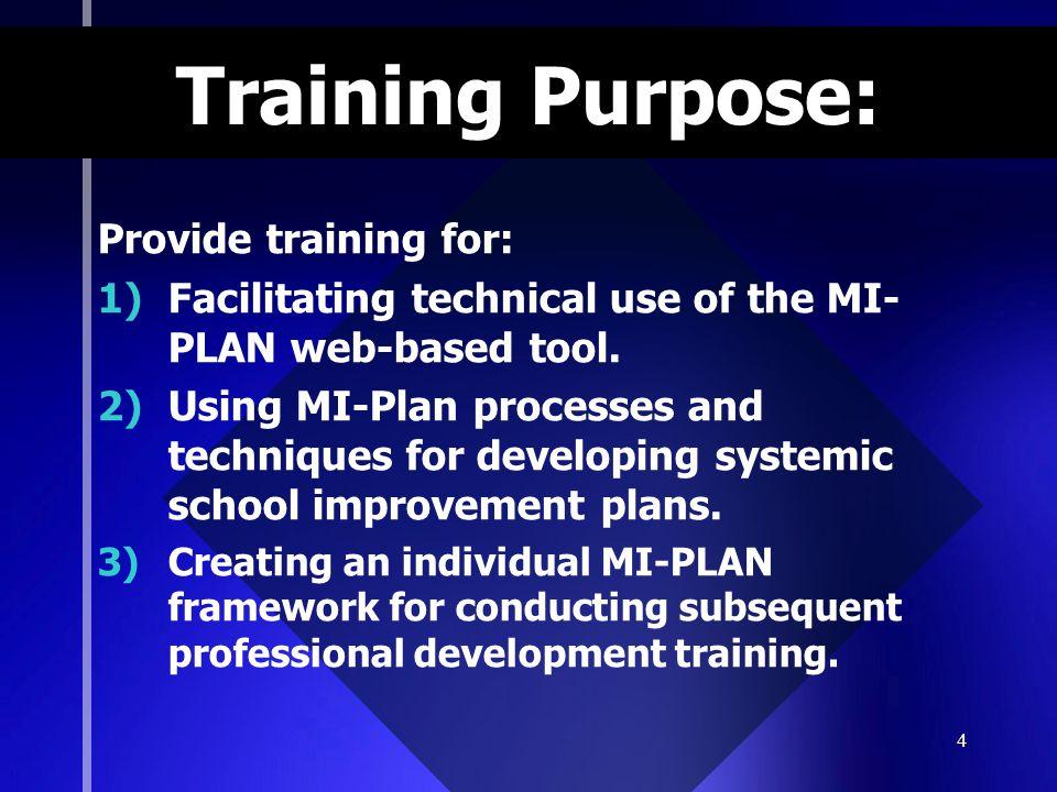 5 What is MI-Plan.