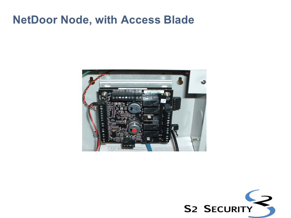 NetDoor Node, with Access Blade