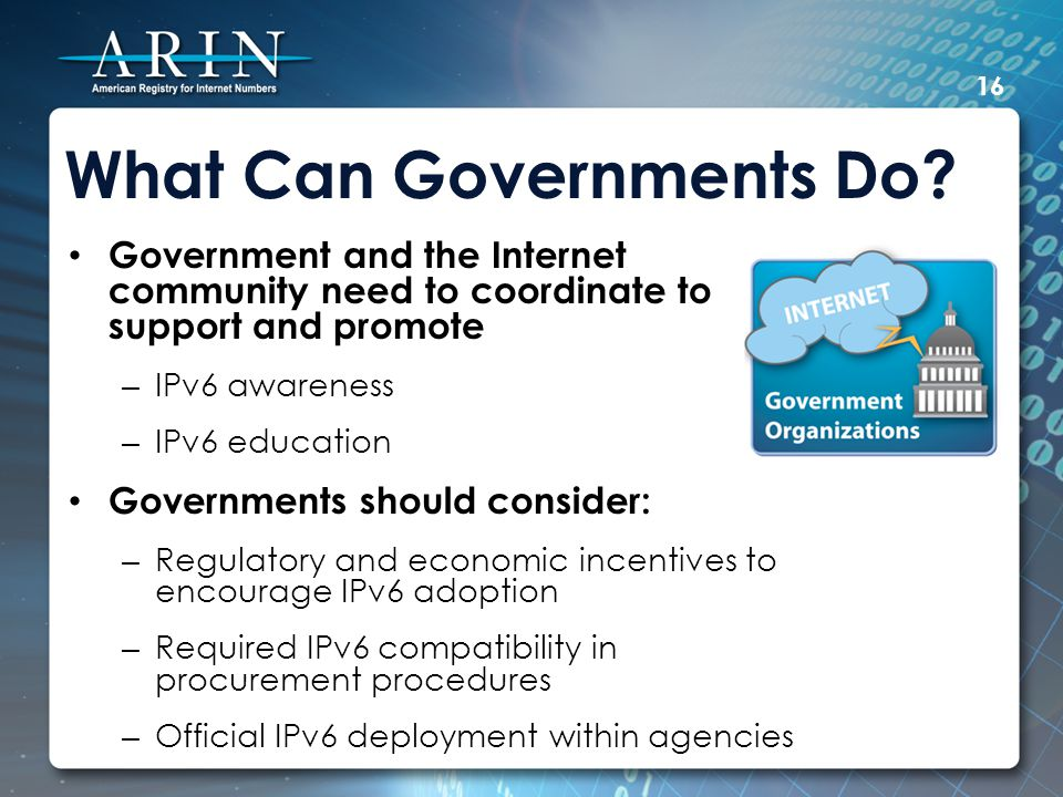What Can Governments Do.