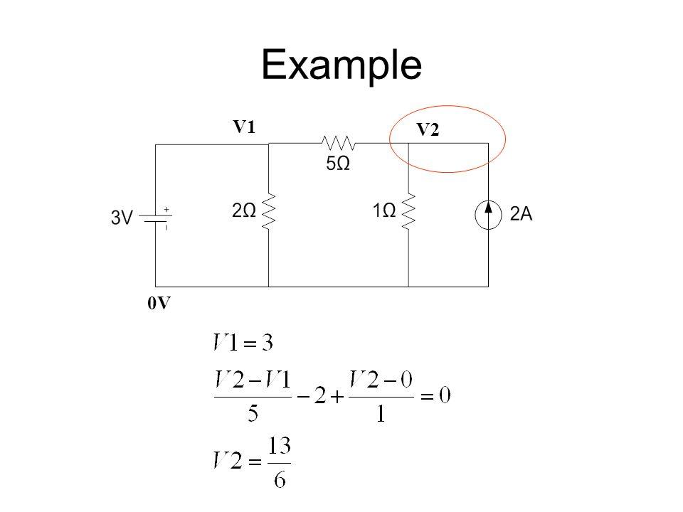 Example 0V V1 V2