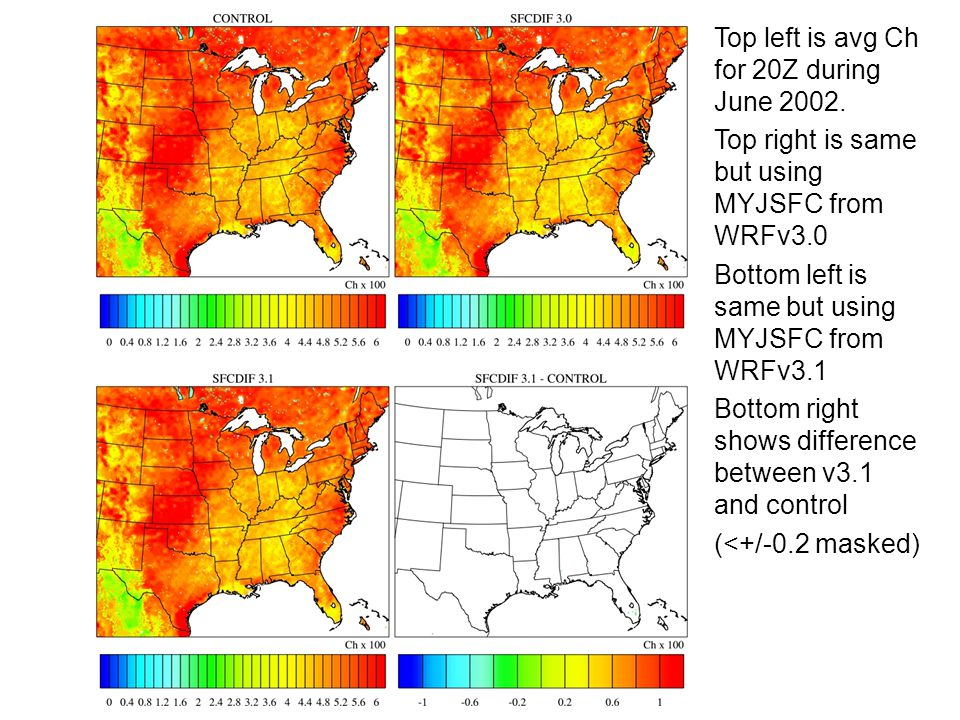 Top left is avg Ch for 20Z during June 2002.