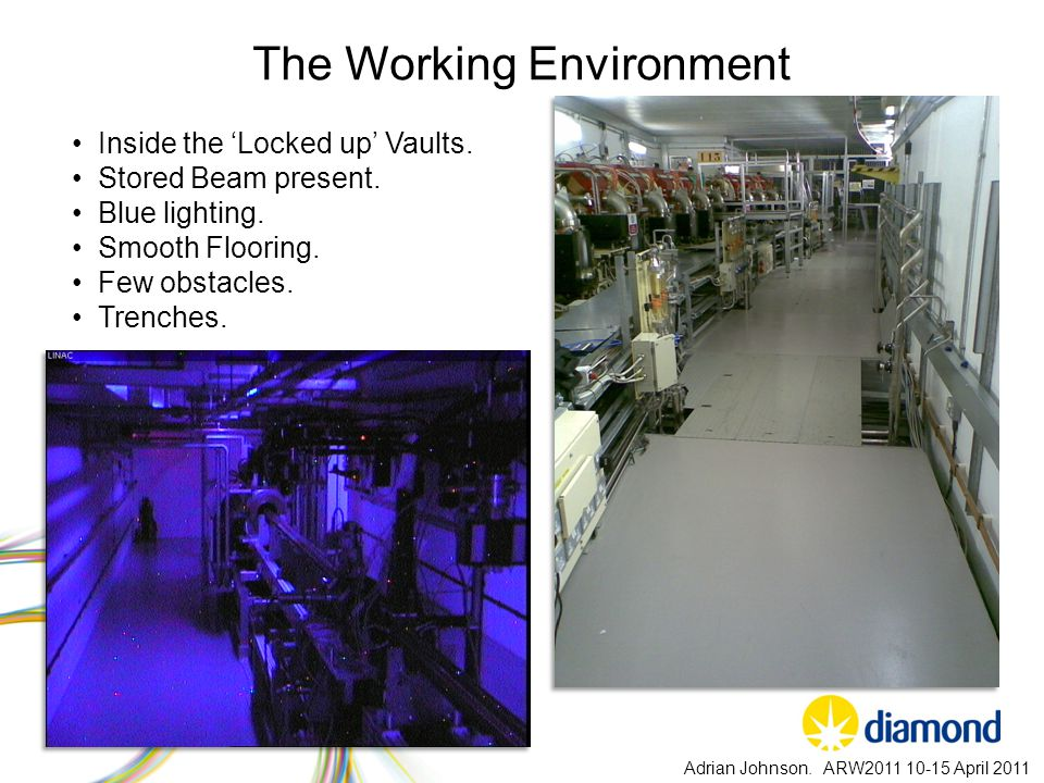 The Working Environment Adrian Johnson.
