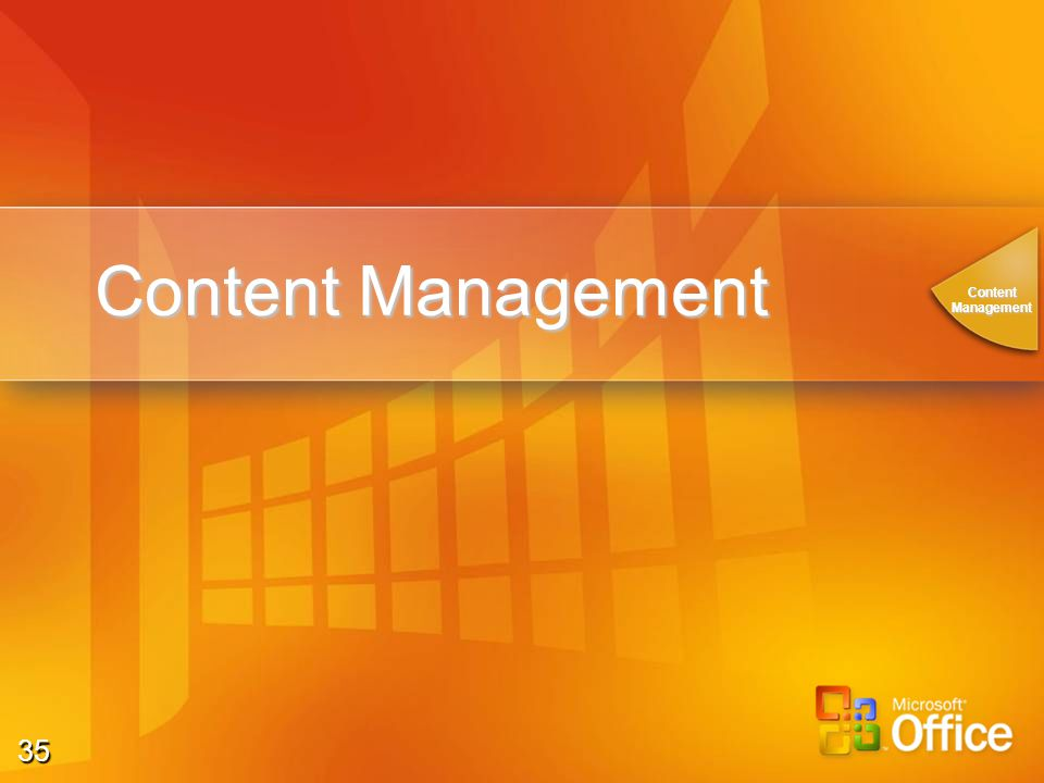 35 Content Management ContentManagement