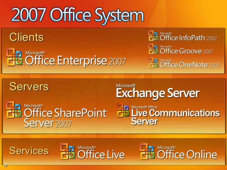 4 Servers Clients Services