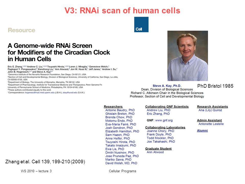 Cellular Programs NIH DAVID pathway analysis tool Huang et al.