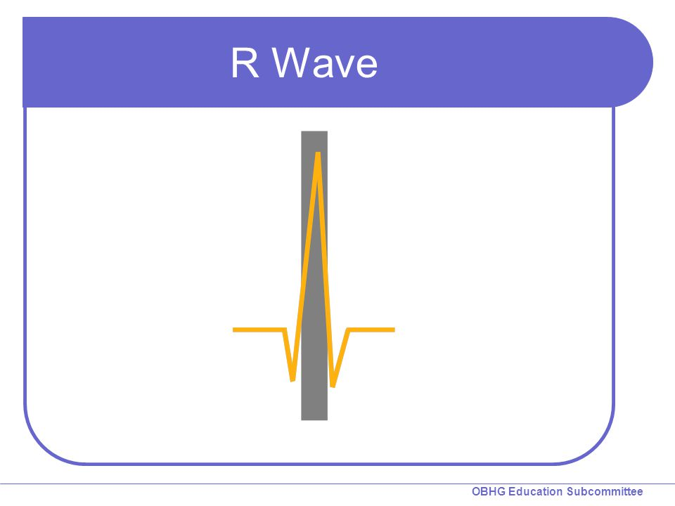 OBHG Education Subcommittee R Wave