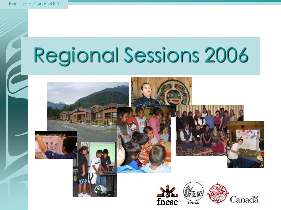 Regional Sessions 2006