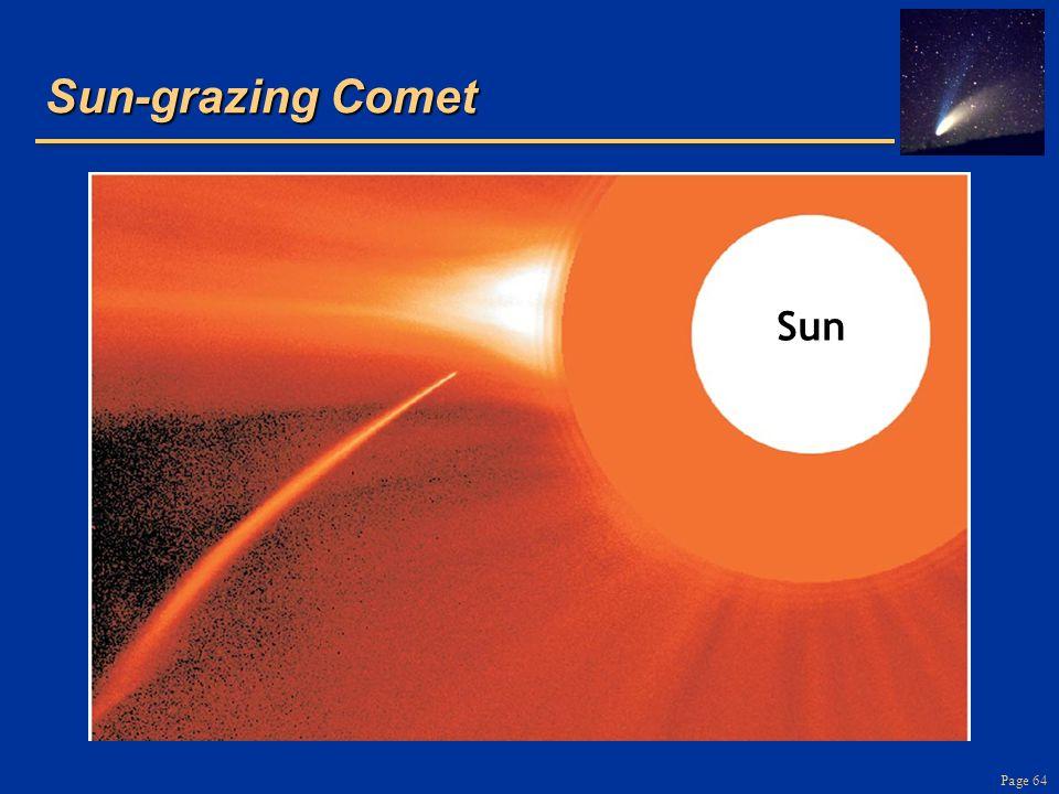 Page 64 Sun-grazing Comet Sun