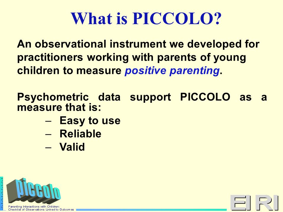 PICCOLO Average Item Agreement by Ethnicity/Culture