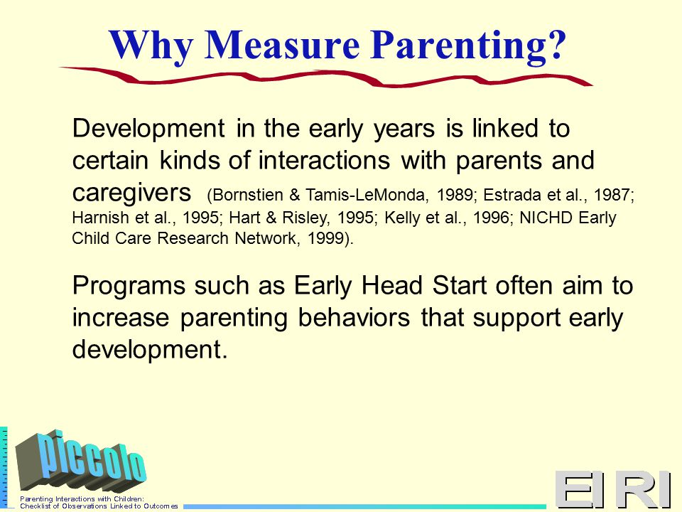 Why Measure Parenting.