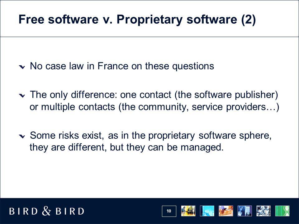 10 Free software v.