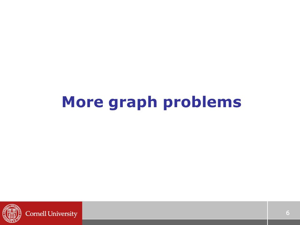 More graph problems 6