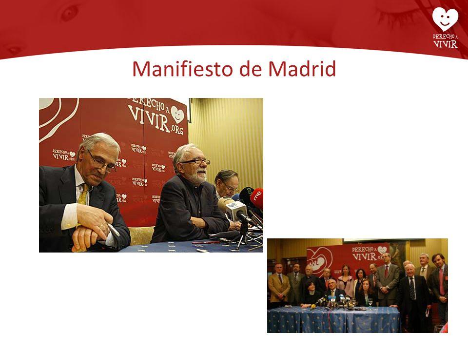 Manifiesto de Madrid