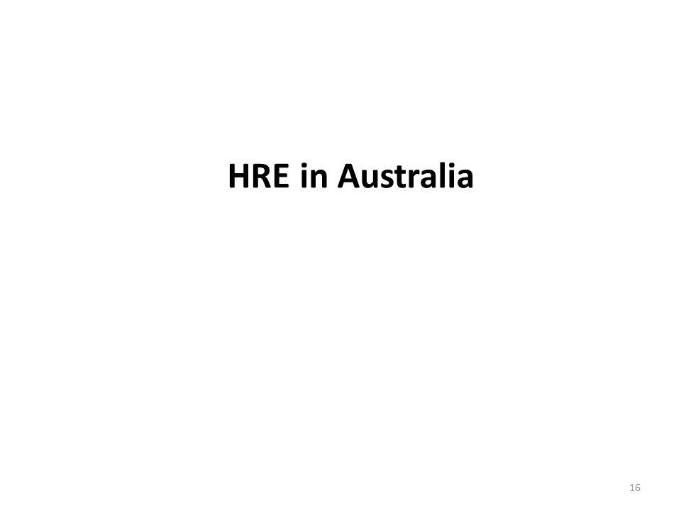HRE in Australia 16
