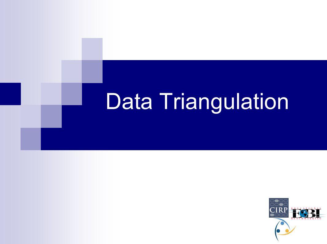 Data Triangulation