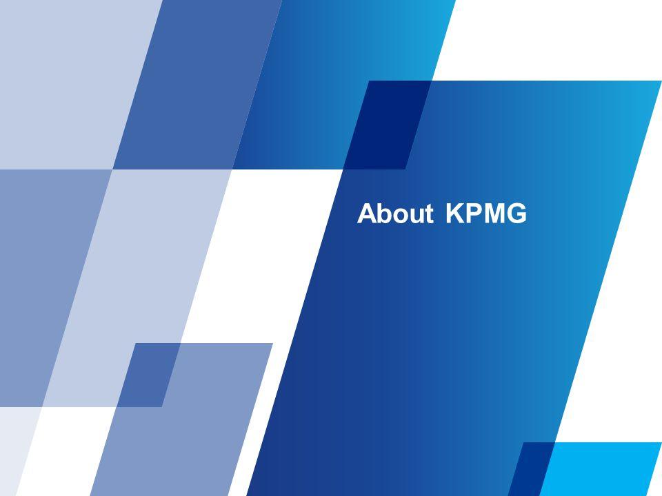 About KPMG