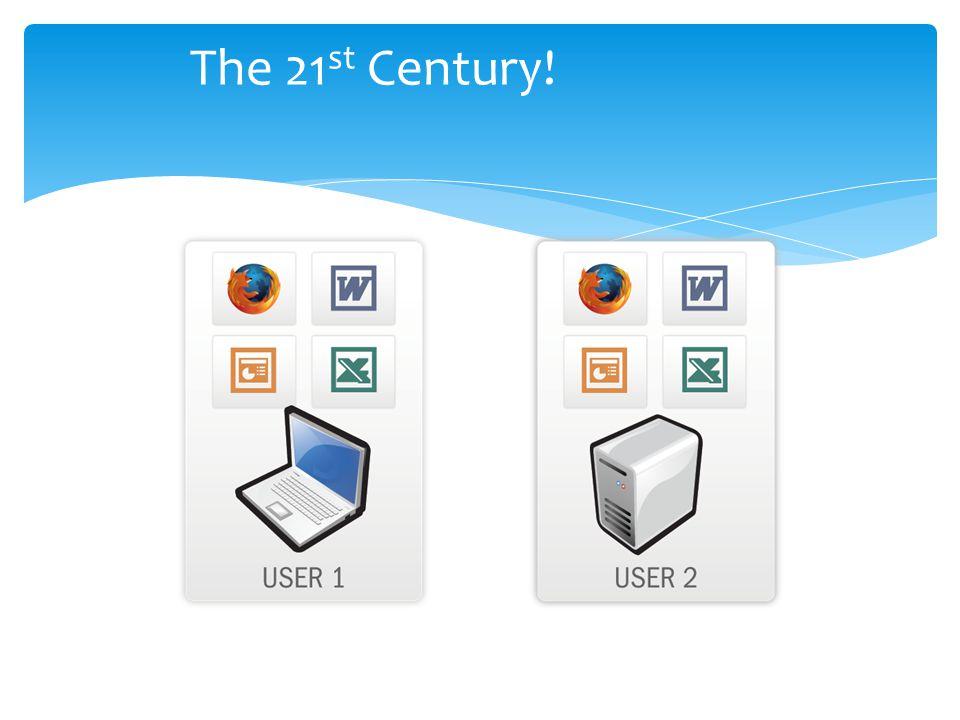 The 21 st Century!