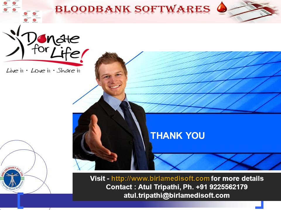 25 http://www.birlamedisoft.com Visit - http://www.birlamedisoft.com for more details Contact : Atul Tripathi, Ph.