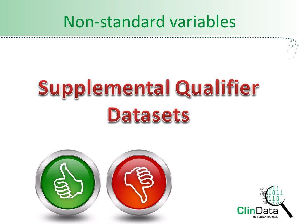 Non-standard variables