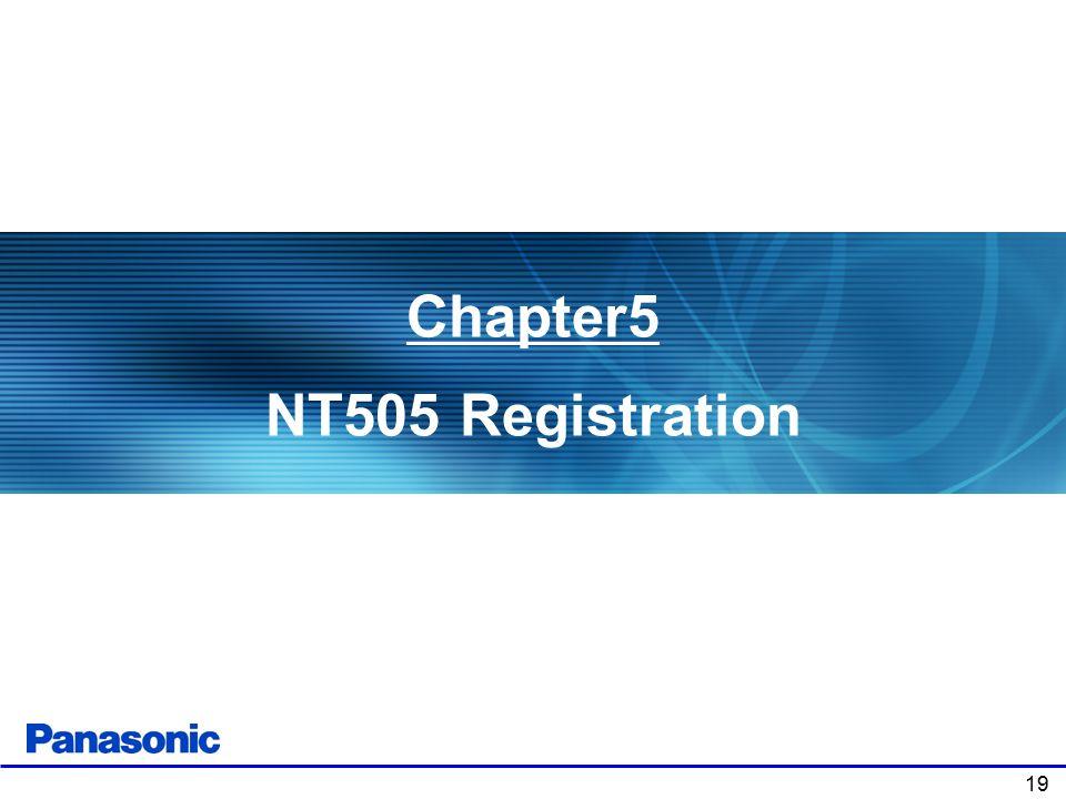 19 Chapter5 NT505 Registration