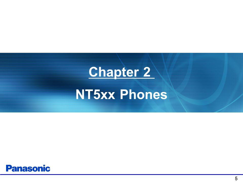 5 Chapter 2 NT5xx Phones