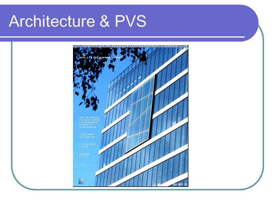 Architecture & PVS