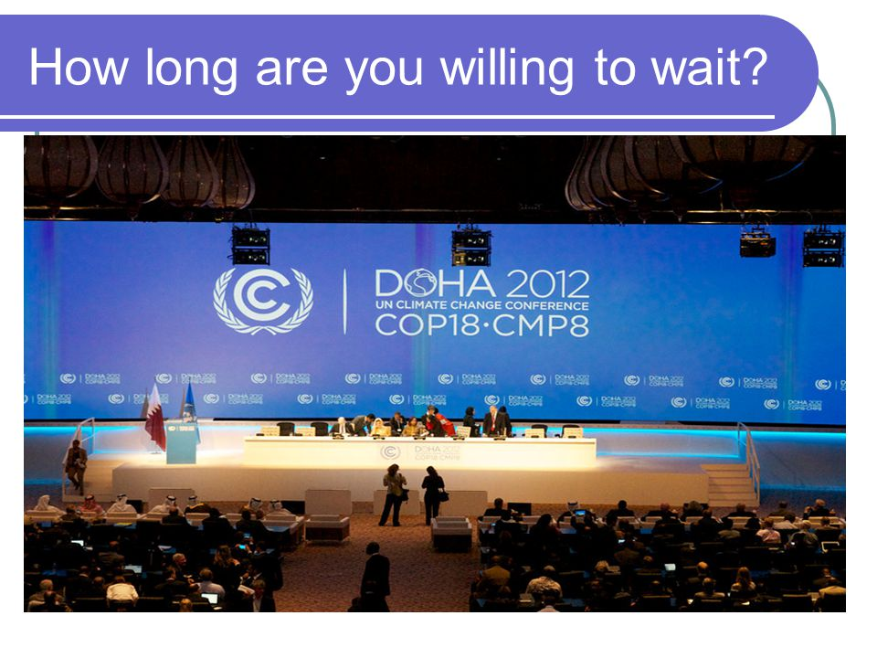 How long are you willing to wait