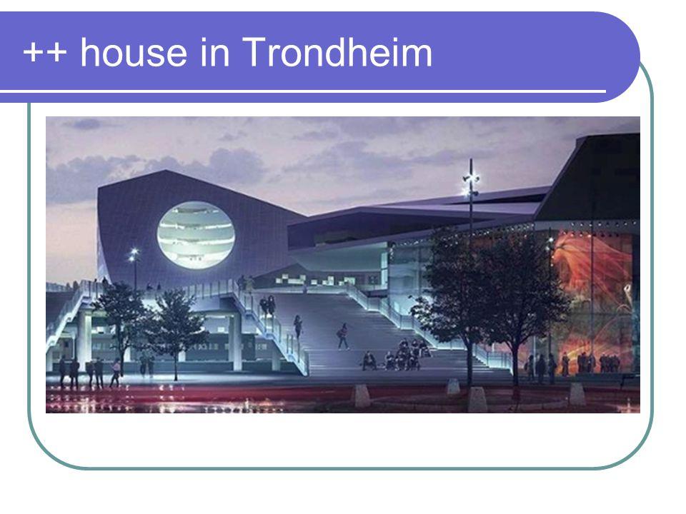 ++ house in Trondheim