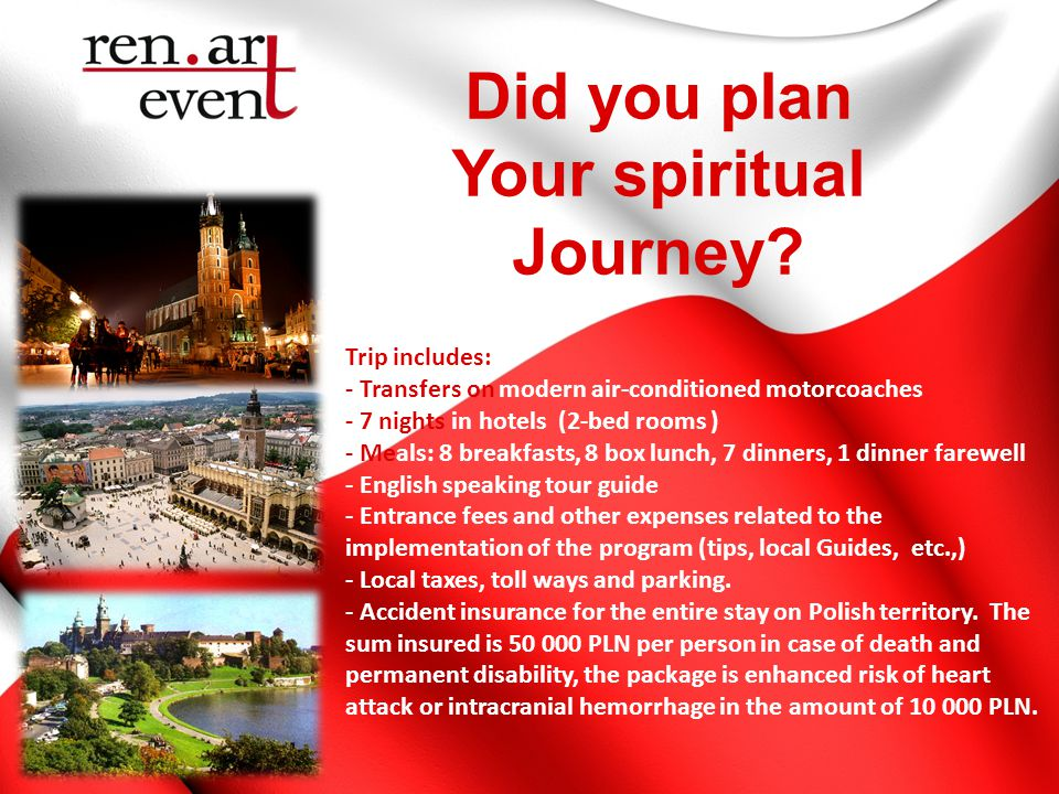 Did you plan Your spiritual Journey.
