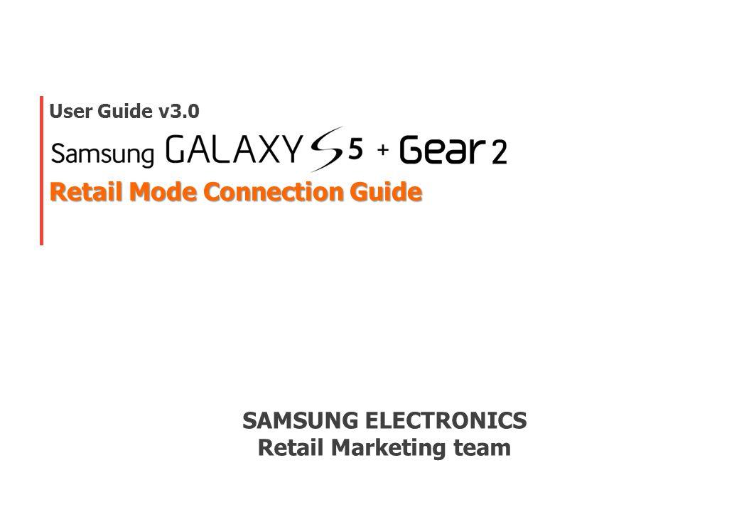 2 Galaxy S5 & Gear2 Connection Guide (Case Ⅰ ) LDU DownloadDownload 11 1.