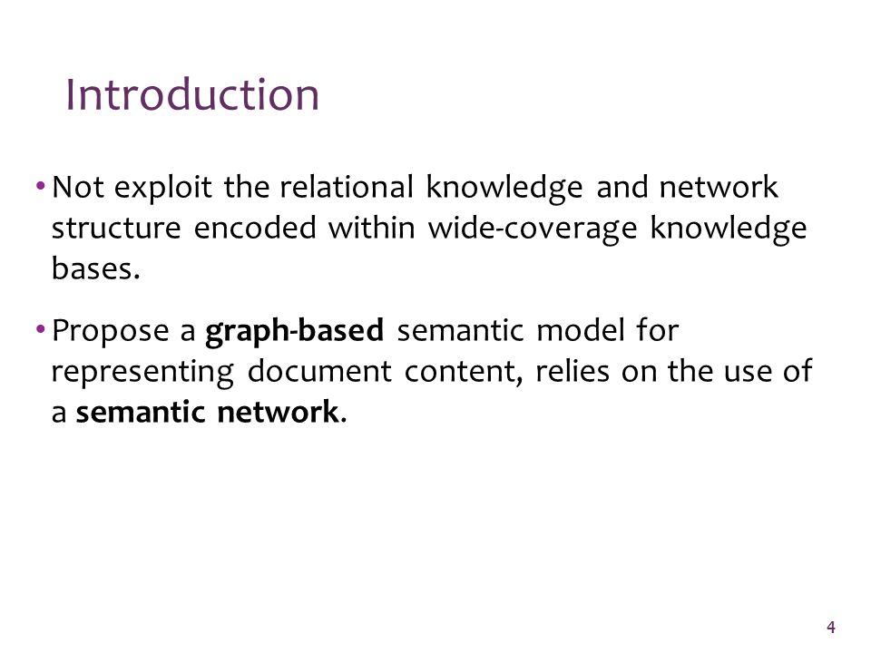 Not exploit the relational knowledge and network structure encoded within wide-coverage knowledge bases.