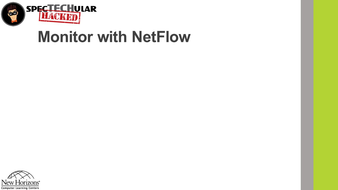 Monitor with NetFlow