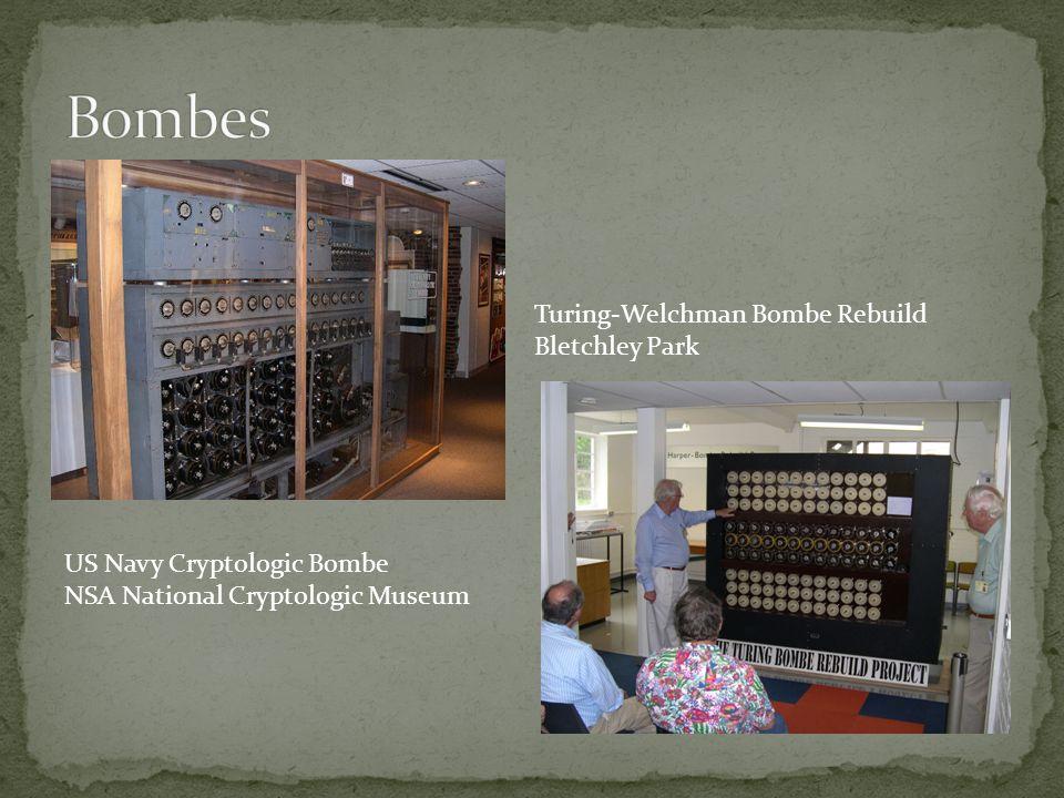 US Navy Cryptologic Bombe NSA National Cryptologic Museum Turing-Welchman Bombe Rebuild Bletchley Park